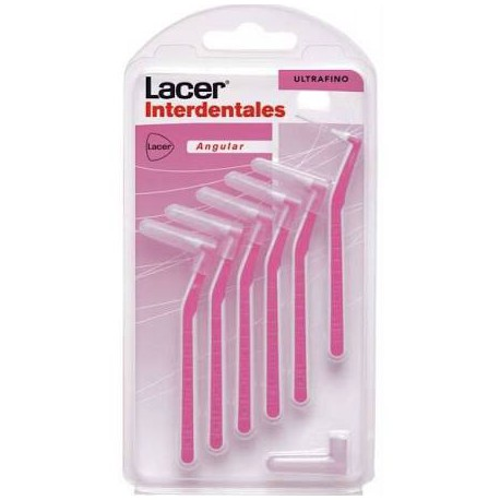 CEP. LACER INTERDENTAL 6 UNIDS EXTRAFINO
