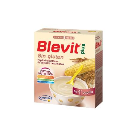Blevit plus Sin Gluten + 4 meses  600 gramos