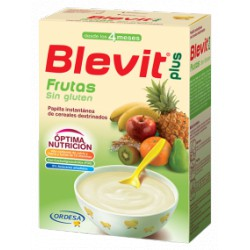 Blevit plus Frutas sin gluten + 4 meses 300 gramos