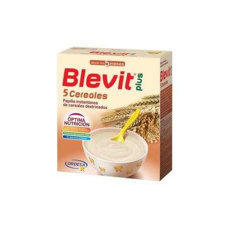Blevit plus 5 Cereales Desde los 5 meses 600 gramos