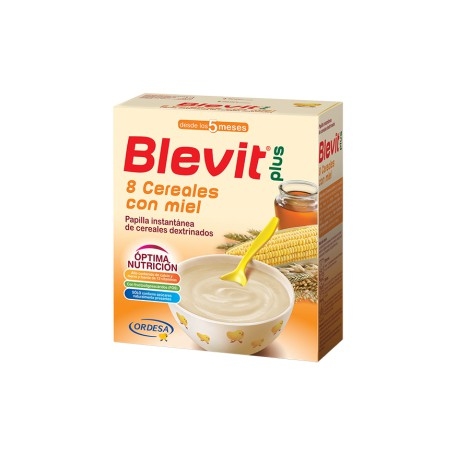 Blevit plus 8 Cereales con Miel Desde los 5 meses  1000 gramos