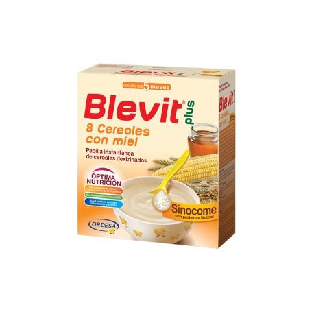 Blevit plus Sinocome 8 Cereales con miel Desde los 5 meses 600 gramos