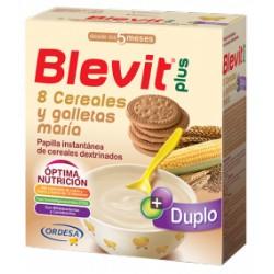 Blevit plus Duplo 8 Cereales y galletas maría Desde los 5 meses 600 gramos