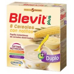 Blevit plus Duplo 8 Cereales con natillas Desde los 5 meses 600 gramos
