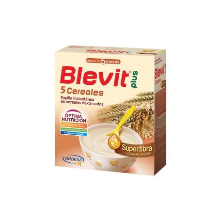 Blevit plus Superfibra 5 Cereales Desde los 5 meses 600 gr
