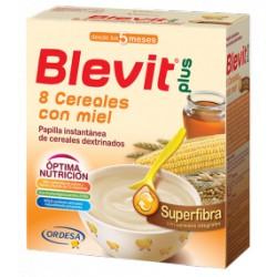 Blevit Plus 8 cereales con miel efecto Bífidus Superfibra 600 gr 5m+