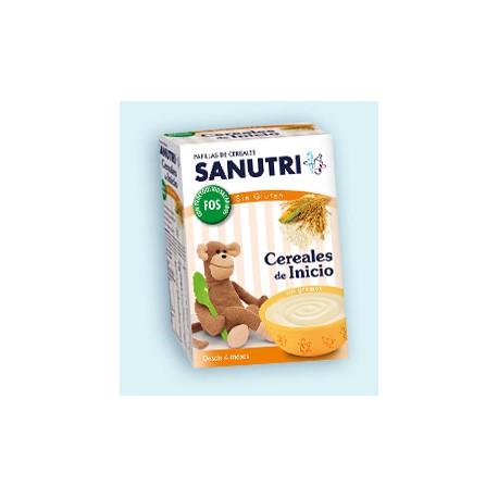 Sanutri cereales de inicio con FOS 600 gr +4 m