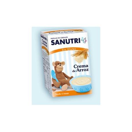 Sanutri crema de arroz 300 gr +4m