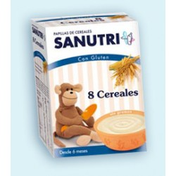 Sanutri 8 cereales 600 gr +6m