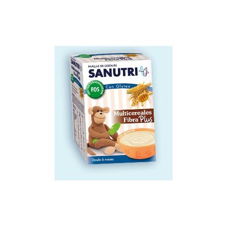 Sanutri multicereales fibra plus 600 gr +6m