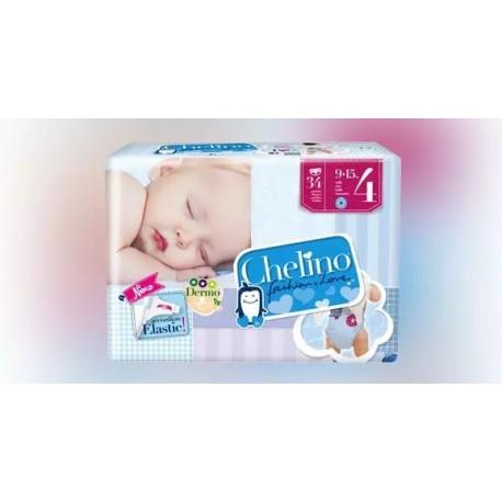Chelino F&L Pañal Gateo Talla 4 9-15 Kg 34 U