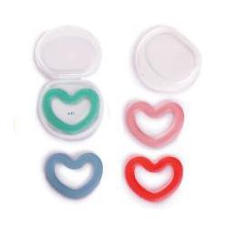 Suavinex mordedor silicona love +0m (1ud.)
