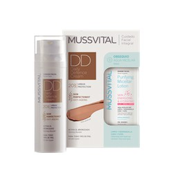 Mussvital dd cream 50 ml + agua micelar de regalo 100 ml