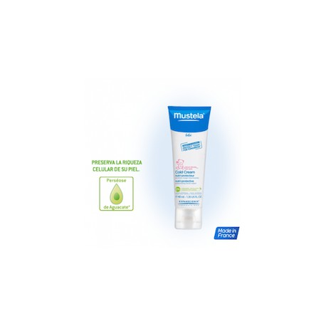Mustela Cold Cream nutriprotector Crema cara 40ml