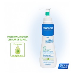 Mustela Gel Lavante supergraso al Cold Cream nutriprotector Cabello y cuerpo 300ml