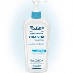 Mustela stelatopia Crema emoliente 400ml Con dosificador