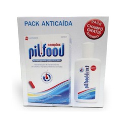 Pilfood complex pack anticaída (60 comprimidos + champú anticaída 200 ml)