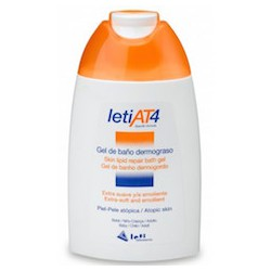 Leti at4 gel de baño dermograso 200 ml