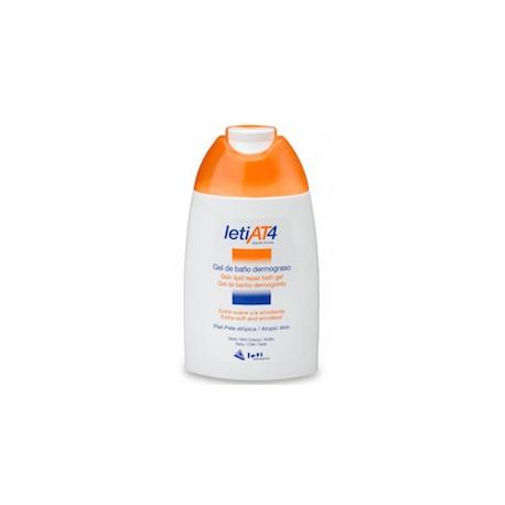Leti at4 gel de baño dermograso 200 ml
