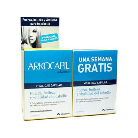 Arkocapil Advance 120 Cápsulas + 1 Semana Gratis