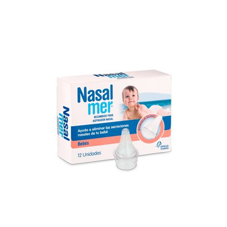 Nasalmer Recambios para el Aspirador Nasal 12 Recambios
