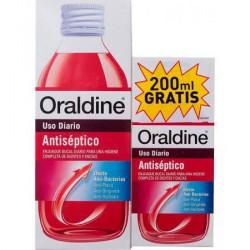 Oraldine antiséptico uso diario 400ml+200ml gratis