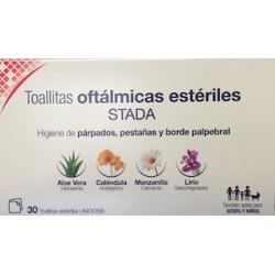 Toallitas oftálmicas estériles stada 30 Unidosis
