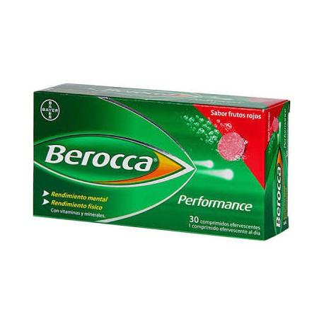 Berocca Performance 30 comprimidos frutos rojos + gratis Berocca Boost 15 com.