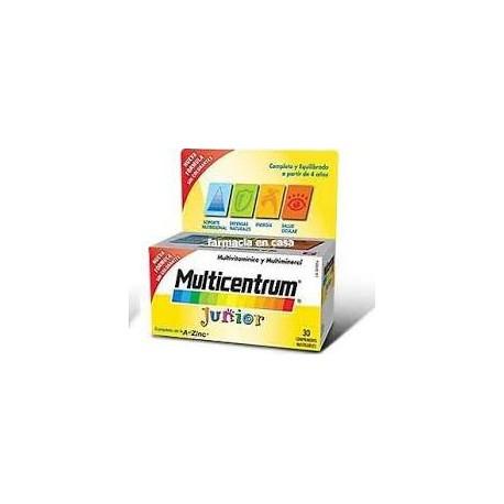Multicentrum  Junior  30 comprimidos masticables.