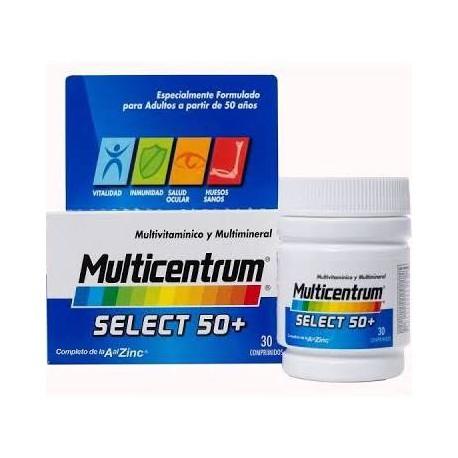 Multicentrum Selec 50+ 30 comprimidos