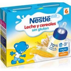 Nestle Leche y Cereales Sin Gluten (Brik 250 Ml 2U)