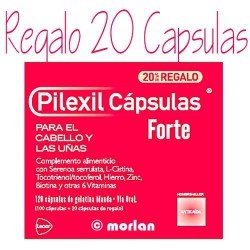 Pilexil Anticaida Forte 120 Capsulas 20% de regalo