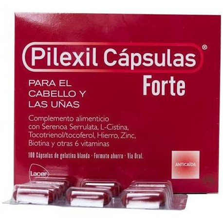 Pilexil Anticaida Forte 100 Capsulas