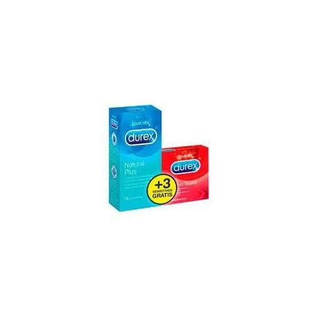 Preservativo durex natural comfort 12+3 sensitivo