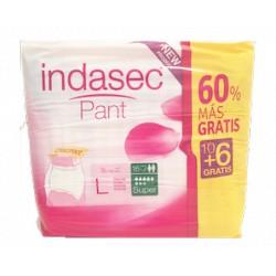 Indasec Pant Super T.Grande 10+6 gratis