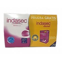 Indasec Extra 20 und + 10 gratis Indasec discreet