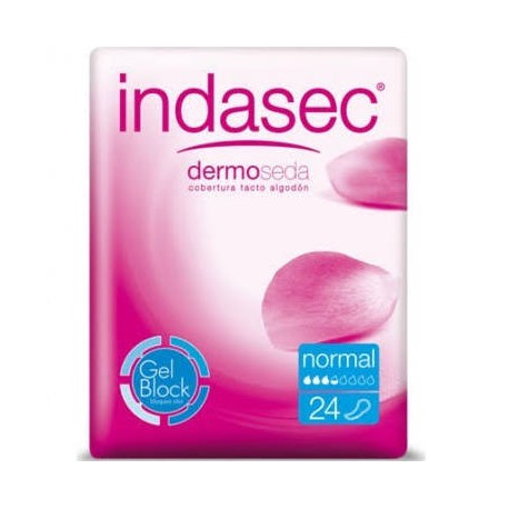 Indasec Discreet Normal 24 Uds.