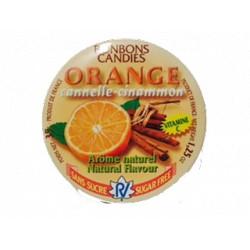 Caramelos de Naranja aroma natural sin azúcar
