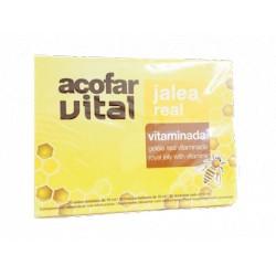 AcofarVital Jalea Real Vitaminada 20 Viales de 10 ML