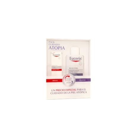 Eucerin pack cuidado atopia crema forte  atopicontrol + oleo gel de baño piel seca atopicontrol