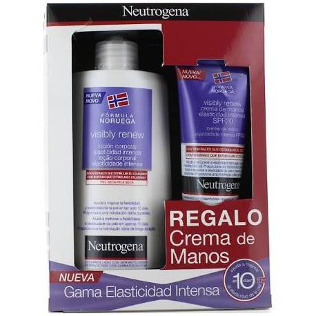 Neutrogena Visibly Renew Locion Corporal 400 Ml + Regalo Crema Manos Visibly Renew 75 Ml