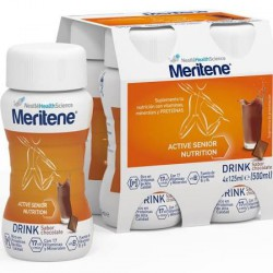Meritene Drink Chocolate 4 X 125 ml