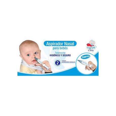 Nahore Aspirador Nasal Bebes 2 Unidades