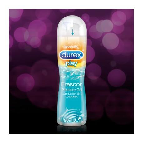 Lubricante Durex Play Frescor Gel Lubricante 50 ml