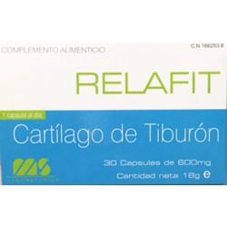 Relafit cartilago de tiburon 600 mg 30 capsulas