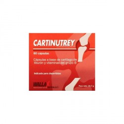 Cartinutrey Cartilago De Tiburon  60 Capsulas