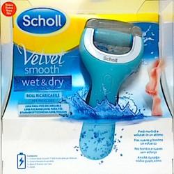 Dr Scholl Lima Electrónica Velvet Smooth Wet & Dry NUEVA. Piel seca y mojada