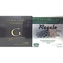 Germinal Acción Inmediata 5 Ampollas + Germinal 3.0 tratamiento Antiaging 5 Ampollas