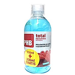 Phb Total Plus Colutorio 300 + 200 ml Gratis