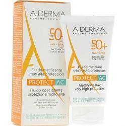 Aderma Protect Fluido Spf 50+ Ac Matificante Ducray 40 ml